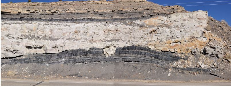 Panorama - Incised valley fill channel